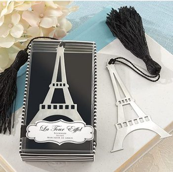 Wedding favor --Wedding celebration supplies Fashion creative giftsEiffel Tower bookmark 50pcs/lot 201